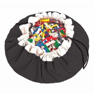Classic Black - Play & Go, Toy Storage Bag